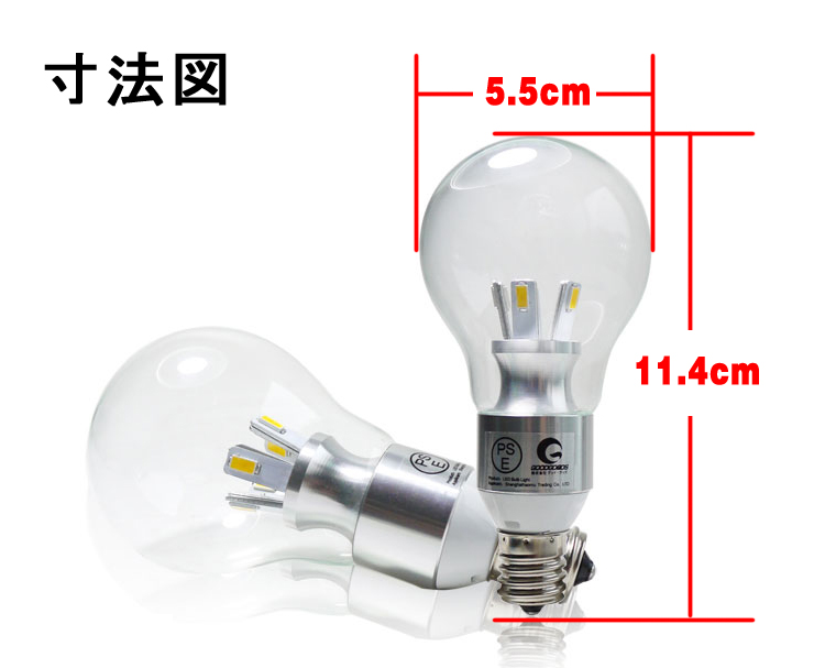 LED商品の注意事項