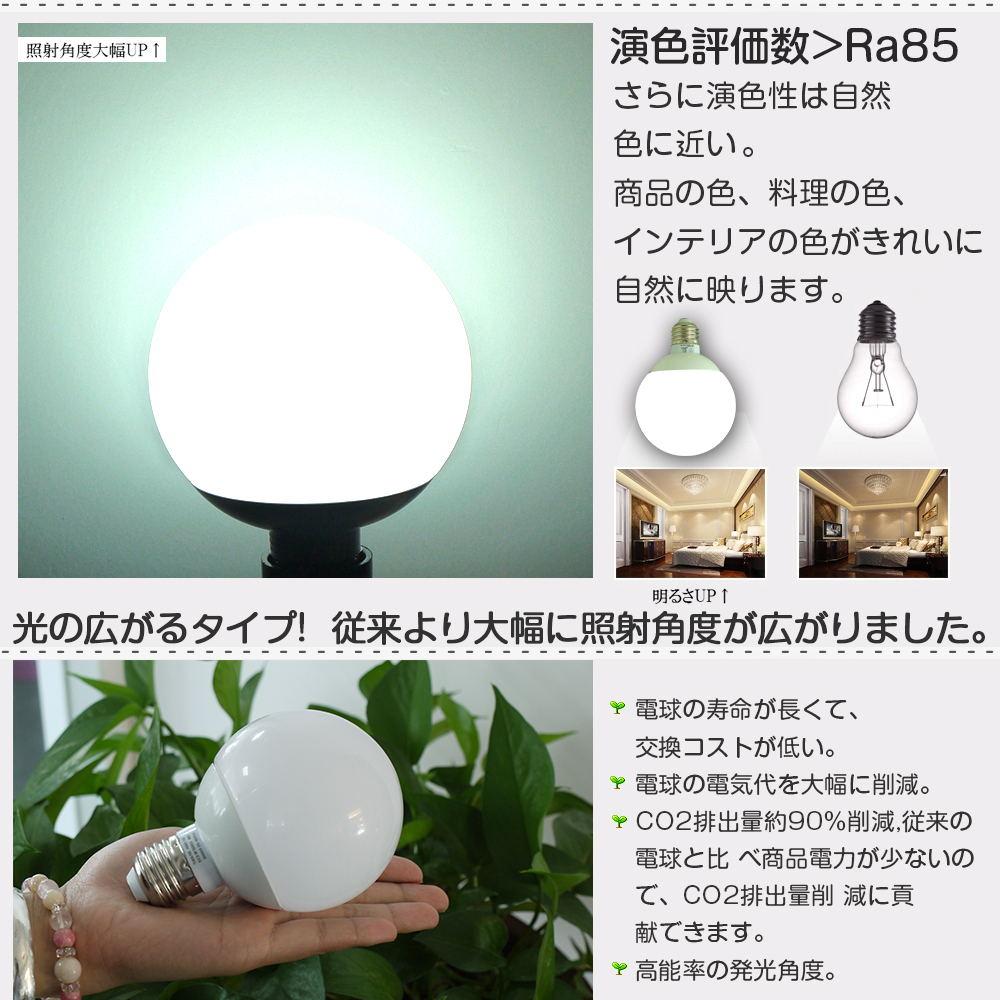 LED電球12W E26【PSE取得済】LEDボール電球 ペンダントライト 蛍光灯