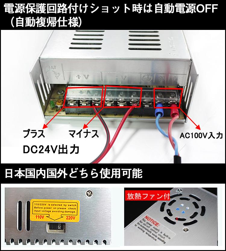 当製品は電源保護回路付けショット時は自動電源OFF