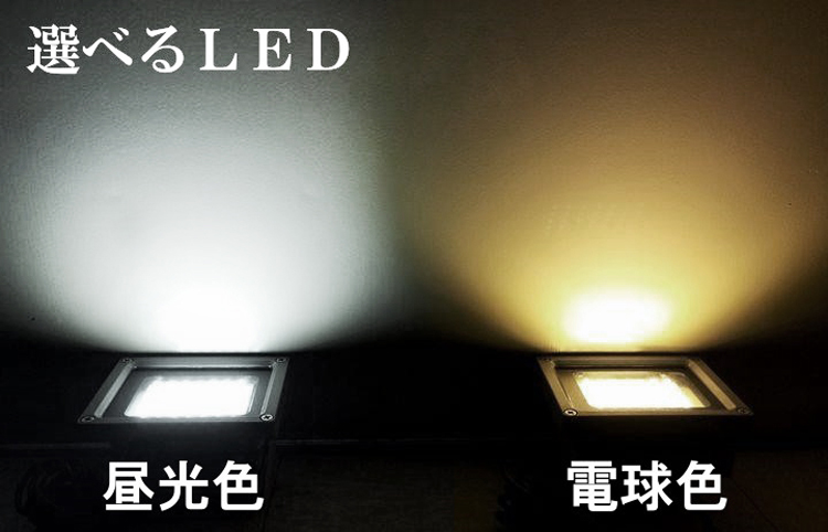 LED投光器 ソーラーライト 自動点灯 SMD40灯 ガーデンライト 投光器