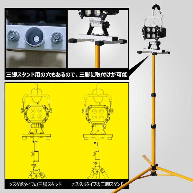 ハンディライト 工事現場 屋外活動 倉庫 応急ライト